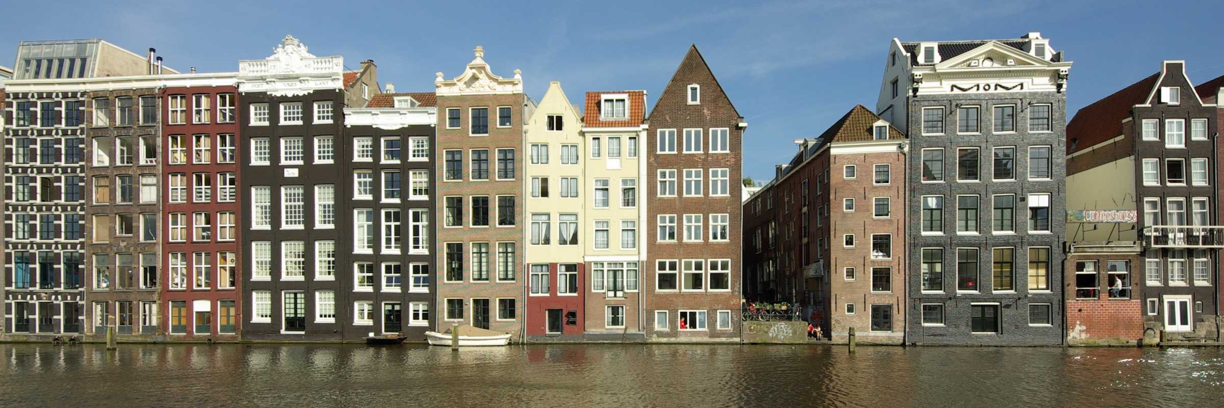 Image of Amsterdam on canal