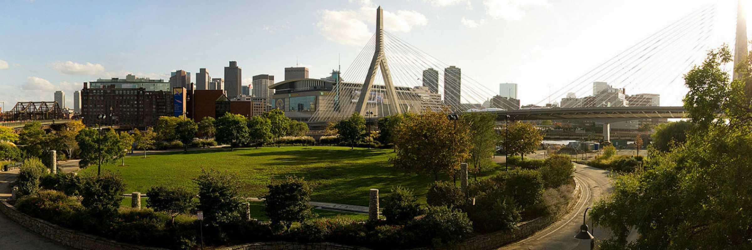 Boston Panorama by Dirk Knight