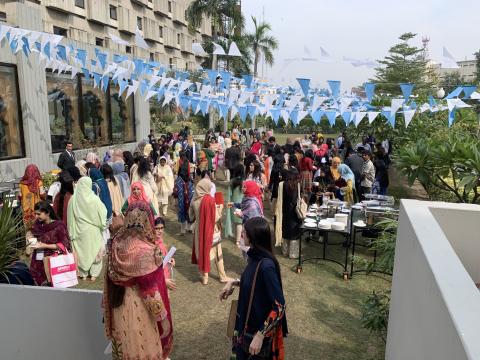 Delegates in Pakistan