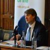 Chris Skidmore MP was questioned by Liam Oliver during panel 3
