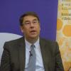 Professor Philip Calder addressing the room