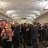 A drinks reception followed with further discussion