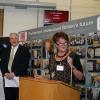 Professor Bridget Lamb, President of the Physiological Society presenting The Physiological Society Award