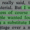 Statement from Proceedings of The Ninth Annual Nutrition Conference, , organised by the Flour Advisory Bureau, with, Home Economics and Domestic Subjects Review, October 9 1971.  30% agreed, 30% disagreed and 40% were unsure with the statement at the Archives Interactive table.