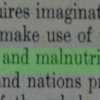 Statement from Declaration, Final Act of the United Nations Conference on Food and Agriculture, May 18 - June 3 1943.  62% agreed, 10% disagreed and 28% were unsure with the statement at the Archives Interactive table.