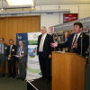 Stephen Metcalfe MP presenting during the prize giving