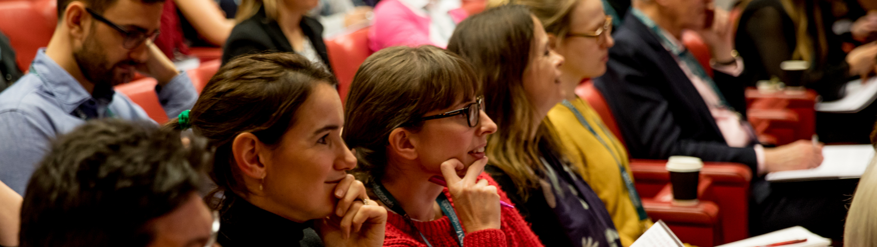 Delegates in audience at conference