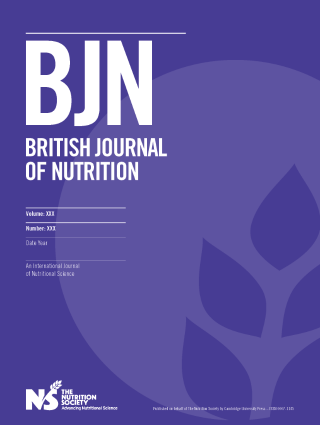 British Journal of Nutrition cover image