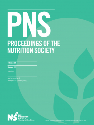 Proceedings of the Nutrition Society