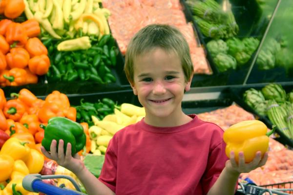 Children's portion sizes