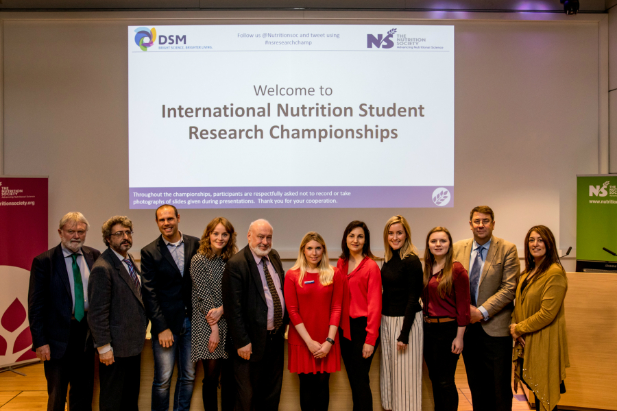 Candidates, judges and organisers of the 2nd International Nutrition Student Research Championships