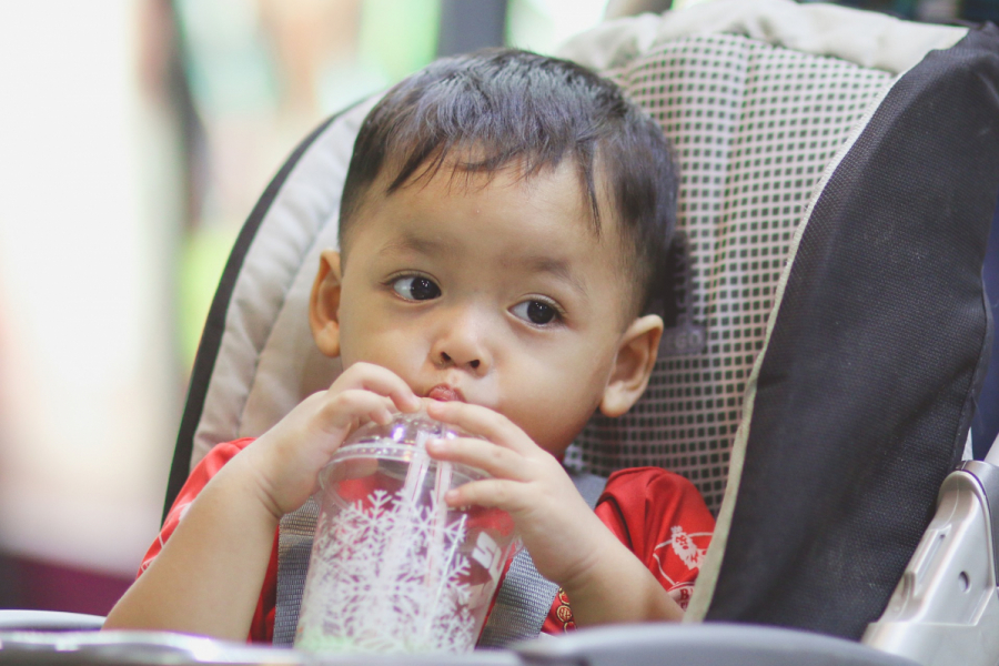 Effects of a children's beverage intervention