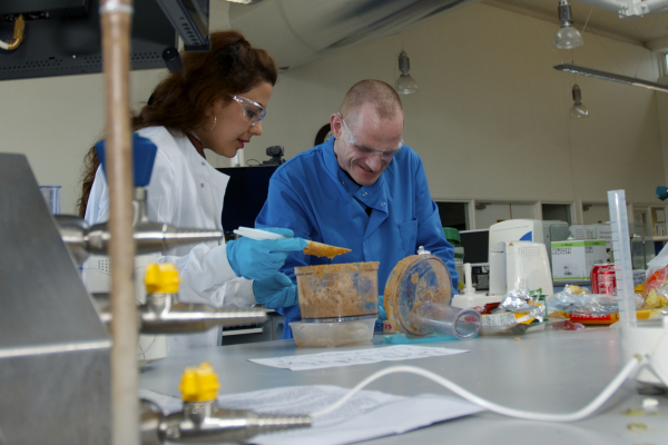 Supervisor and Student undertaking research