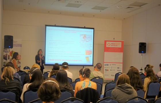 Nutrition Society Mega Evento Nutrição workshop photograph