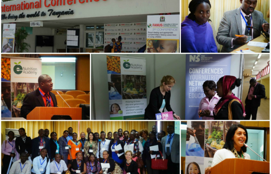 Collage of images from FANUS 2015 in Arusha, Tanzania