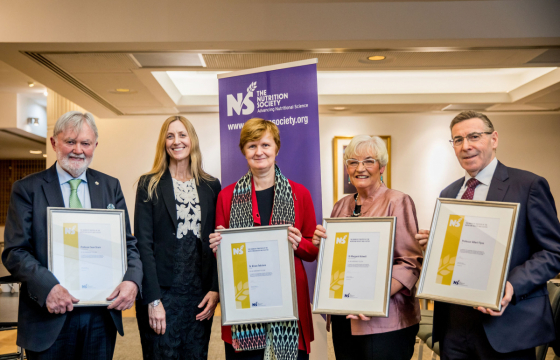 The new Honorary Fellows