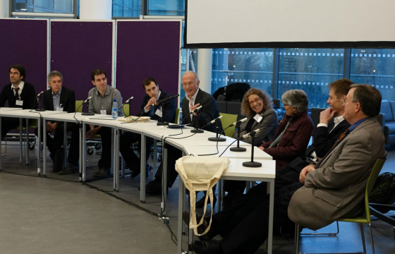 Discussion panel during the Spring 2015 conference, Aberdeen, Scotland