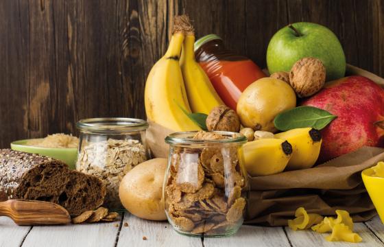 fruit and wholegrain