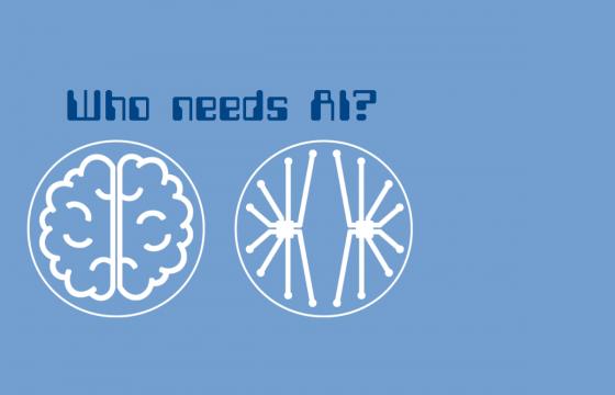 Who needs AI?
