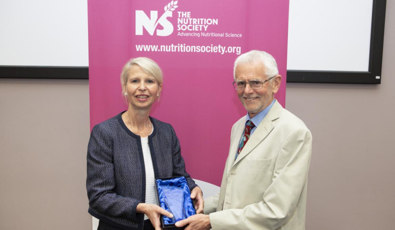 Blaxter winner, Professor Keith Frayn